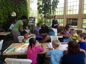 Mosaic Workshop at Rawlings Conservatory